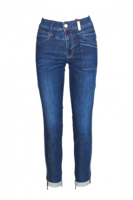 JEANS SKINNY HIGH BLUE