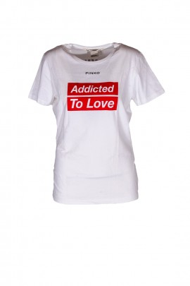MAGLIERIA TOP E T-SHIRT HOLLYWOOD IN LOVE BY PINKO