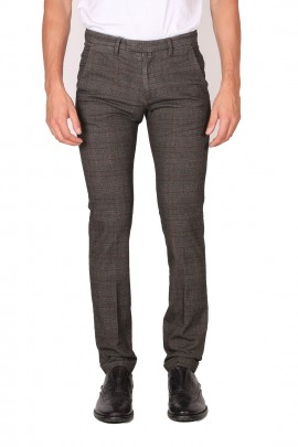 BRIDLE 1949 SLIM FIT TROUSERS