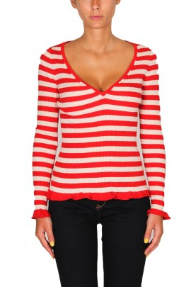 SEMICOUTURE V-NECK KNITWEAR