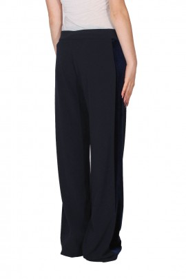 D.EXTERIOR PALAZZO TROUSERS